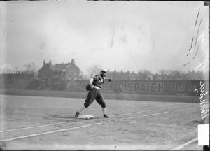 White Sox first baseman Jiggs Donohue- 1907