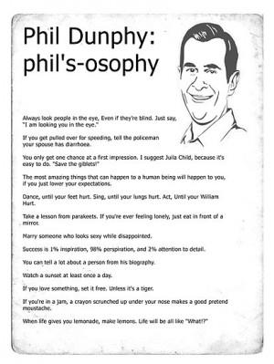sjanssen › Portfolio › Phil Dunphy: phil's-osophy
