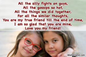 True friend po