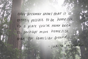 Post image for Monday Quote: Every Dreamer Knows