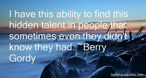 Favorite Berry Gordy Quotes