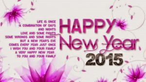 New Year 2015 Best amazing Quotes collection