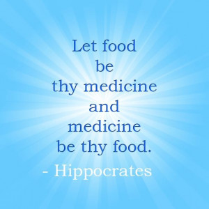 Healthy eating quote.