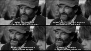 Good Will Hunting. I'm telling you, this is only my favorite movie ...