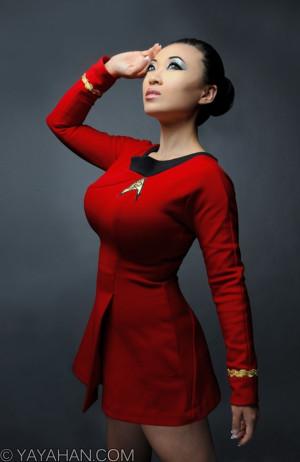 Star Trek Uhura Cosplay by Yayacosplay
