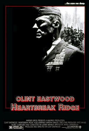 El sargento de hierro ( Heartbreak Ridge , 1986).