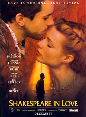 Regia di John Madden, con Ralph Fiennes (William Shakeaspeare ...