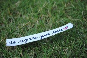 heymissawesome: no regrets, just love