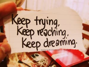 Sunday Inspiration :: Don't Give Up, You Can Reach The Finish Line