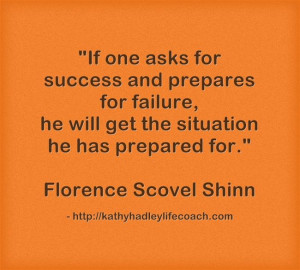 Florence Scovel Shinn quote.