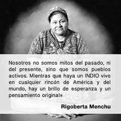 Rigoberta Menchu Oraciones