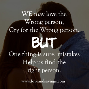 Mistake Help Us Find The Right Person