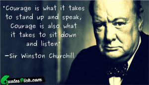 Winston Churchill Quotes with Picture | Winston Churchill Sayings ...
