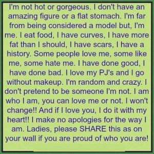make no apologies ...