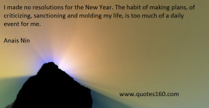 New Year's Resolution Quotes Funny