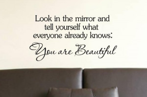 Mirror Sayings Can Help You