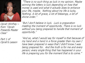 Amazing Oprah Winfrey Quote - From her Master Class Series Part 1