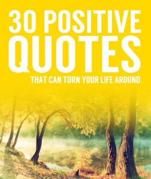Here is a list of my favorite positive quotes! Whenever I am having a ...