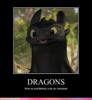 ... there is something else. Let's look at a wider picture of Toothless