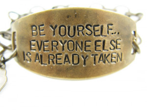 Being Yourself Quotes (16)