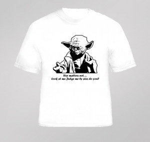 yoda funny star wars quote t shirt