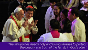 The Philippines needs holy and loving families to protect the beauty ...