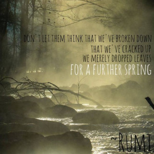 further spring... ~ Rumi