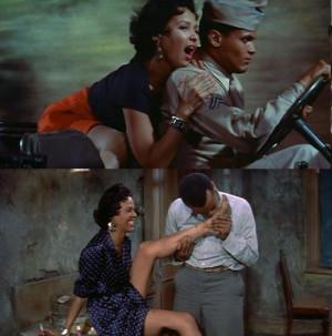 ... & Dorothy Dandridge in Carmen Jones (1954, dir. Otto Preminger