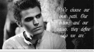 Vampire Diaries Stefan Quotes