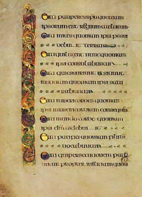 here are the beatitudes from the gospel of matthew all