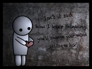 Sad Emo Love Drawings Sad emo drawing quote - broken