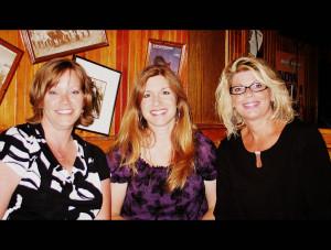 Vickie,+Teresa+%26+Chris+at+GBI 25 year class reunion