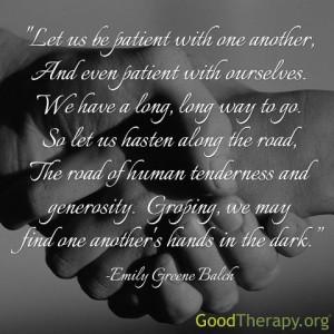 ... and generosity from Nobel Peace Prize winner Emily Greene Balch