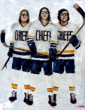 Hanson brothers, Slap shot by Annie-Claudine
