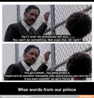 Will Smith movie quote