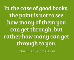 In The Case of Good Books ~ Books Quote