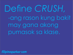 Crush Quotes - Tagalog Love Quotes