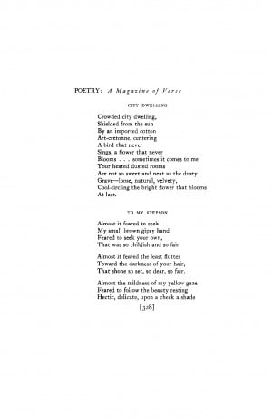 JSTOR and the Poetry Foundation are collaborating to digitize ...