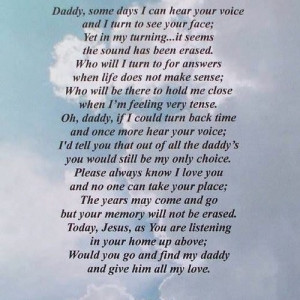 missing dad in heaven quotes