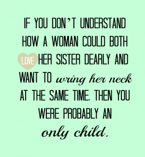 Love Baby Sister Quotes