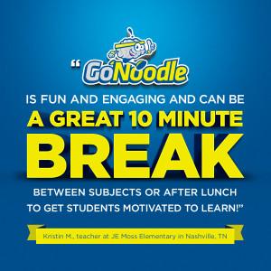 ... learn! – Kristin M., teacher at JE Moss Elementary in Nashville, TN