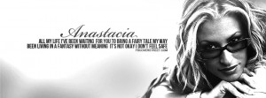 Anastacia Left Outside Alone Quote Picture