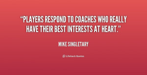 Quotes From Coaches To Players