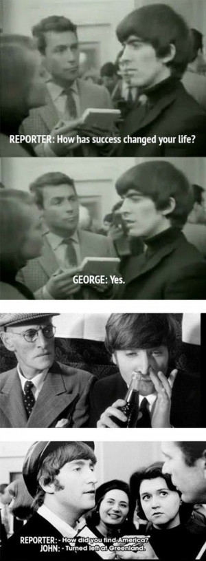 Beatles Funny Quotes Beatles quotes - 01