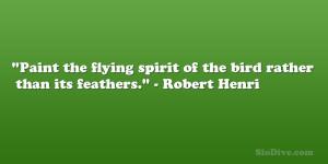 Robert Henri Quote
