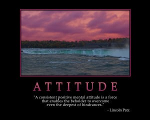 ATTITUDE - Motivational Wallpaper