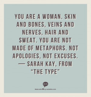 ... _mrch0tGbcu1rmwtkoo1_500.png (500×533) #sarah #kay #poetry #quote