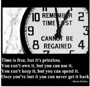 Live your life with time well spent