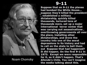 Noam Chomsky Quotes (goodbyehappiness: think)
