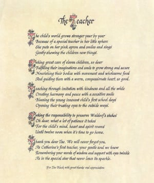Thank You Teacher Poems From Students The teacher poem: